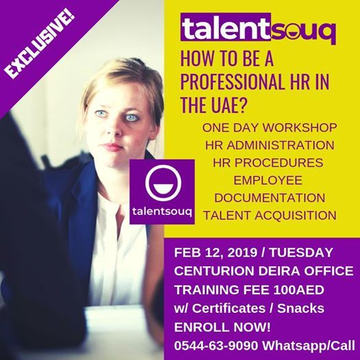 How to Be a Professional Hr in the UAE at TalentsouqCitadel