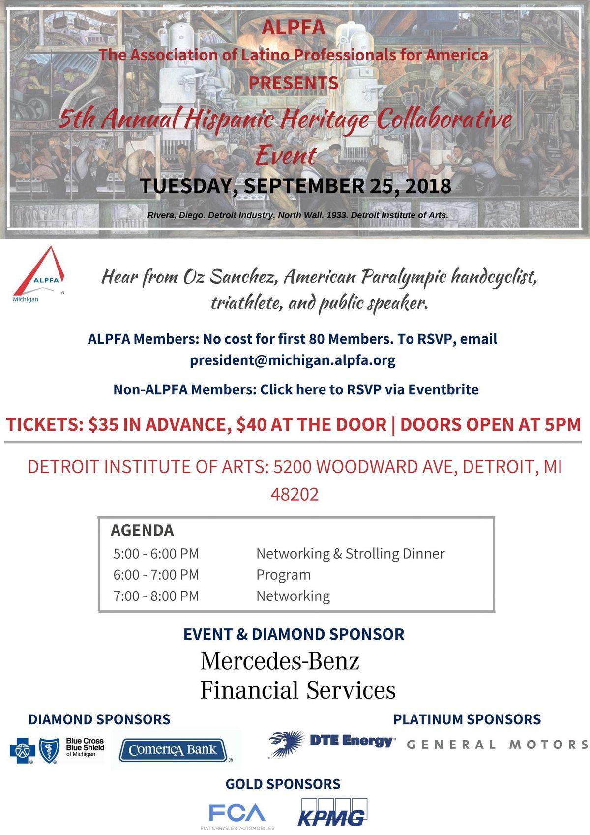 5th Annual Hispanic Heritage Collaborative Event
