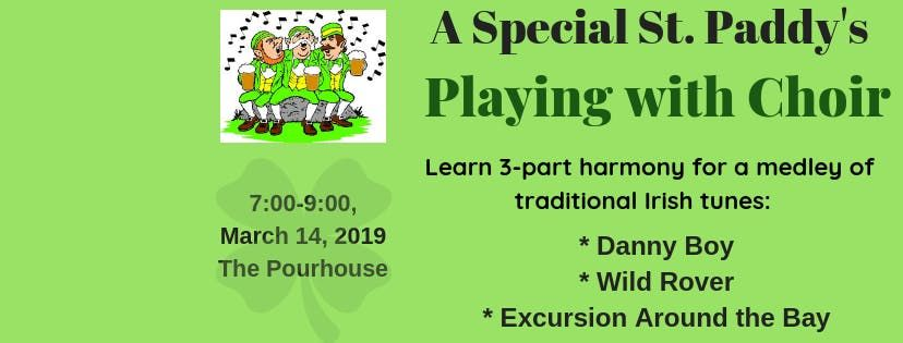 St. Paddys Day Playing with Choir 2019