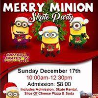 Merry Minion Skate Party