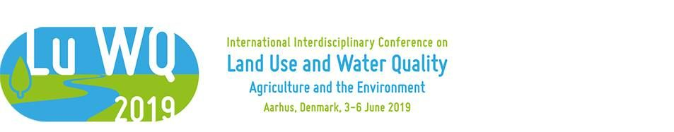 LuWQ2019 Conference on Land Use and Water Quality
