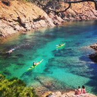 Sortida en kayak per la Costa Brava