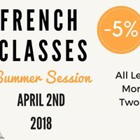 French Classes this Summer.