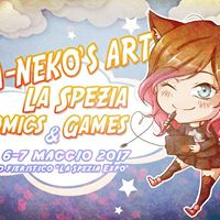 Nia-Nekos Art a &quotLa Spezia Comics&ampGames&quot 2017