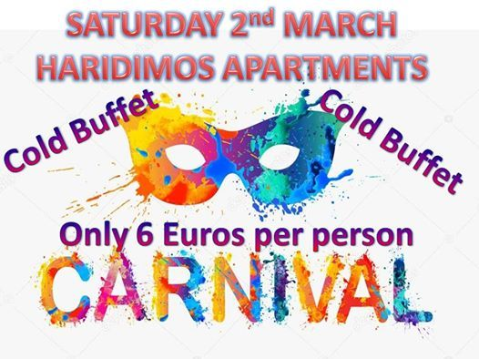 Carnival Party - 2nd March 2019