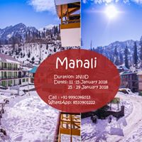 Manali Weekend Getaways