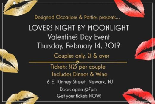 Lovers Night By Moonlight Valentines Day Event