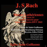 Messes luthriennes et double concerto de Bach