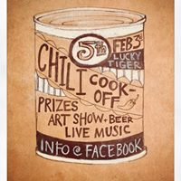 5th annual chili cook-off &amp defaced album art show