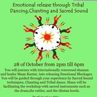 Emotional Release through Tribal Dancing Chanting Sacred Sound