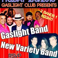 New Variety Band &amp Gaslight Band Live (2 bands 1 night)