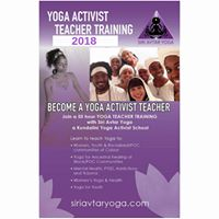 Become A Yoga Activist Teacher