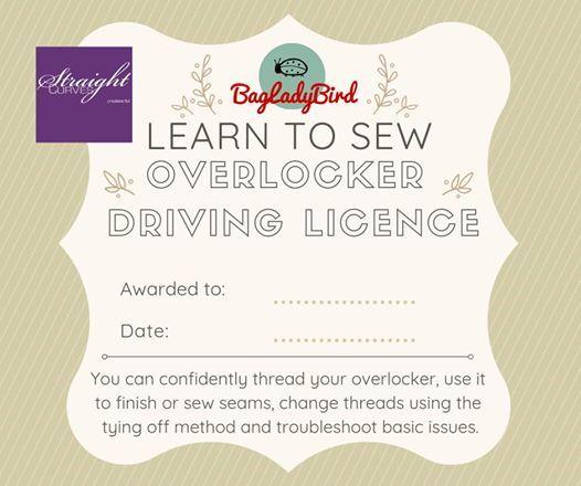 Overlocker Driving Licence at StraightCurves