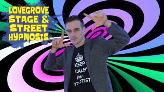 Dylan Lovegrove Hypnotist night
