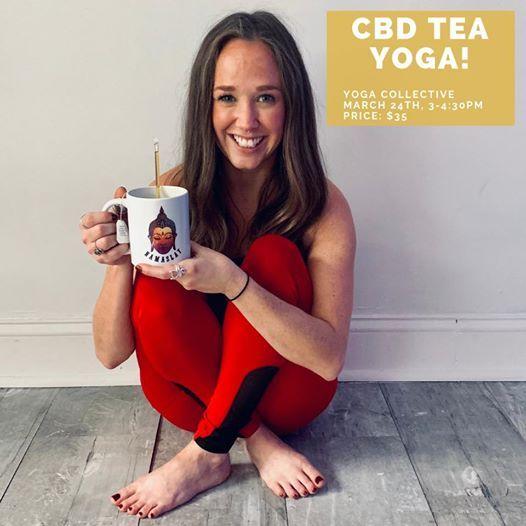 CBD Tea Yoga