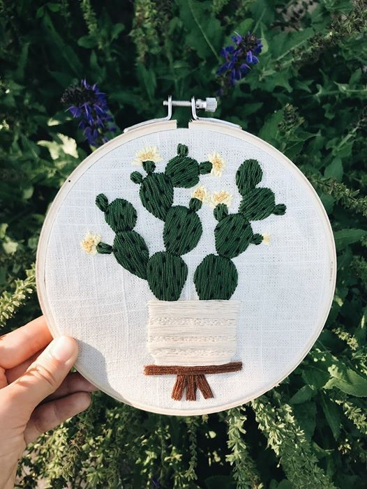 A Modern Embroidery Workshop W Littlefrenchknots At Made The