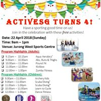 ActiveSG Turns 4