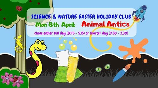 Science & Nature Easter Holiday Club Animal Antics