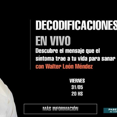 Decodificaciones en vivo