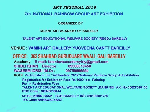 7th National Rainbow Group Art Exhibition 2019