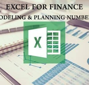 Excel for finance Course Modeling numbers