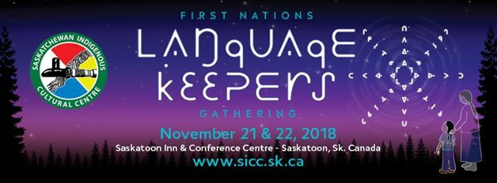 2018 SICC First Nations Language Keepers Gathering