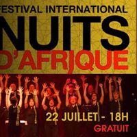 Choeur Baobab au Festival International Nuits dAfrique