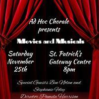 Ad Hoc Chorale - Movies &amp Musicals