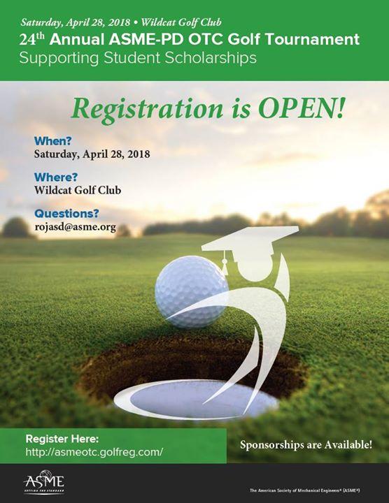 2018 ASME Petroleum Division OTC Golf Tournament