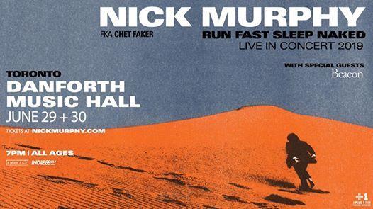 Indie88 presents Nick Murphy fka Chet Faker