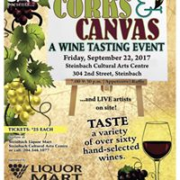 Corks and Canvas - Winetasting