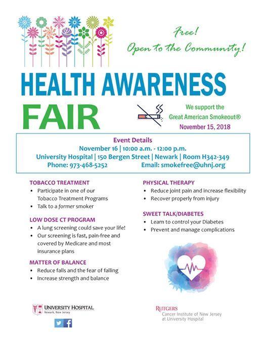 Health Awareness Fair at University Hospital's Healthy Heart Program