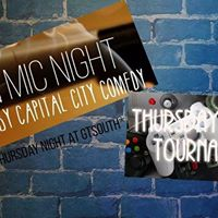 Open Mic Night with Thursday Night Tournament