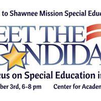 Shawnee Mission SEPTA presentsBoard of Education Meet and Greet