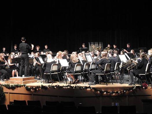Wind Ensemble CBA performance