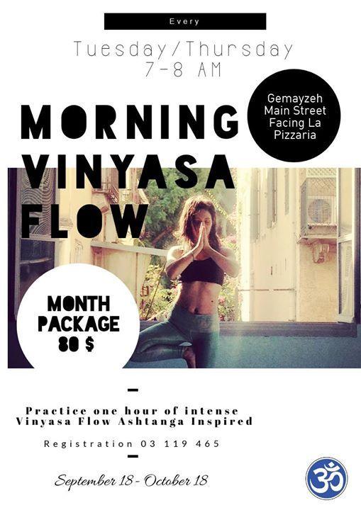 Morning Vinyasa Flow