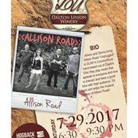 LIVE at DUW - Allison Road Acoustic w Hogback BBQ Pit
