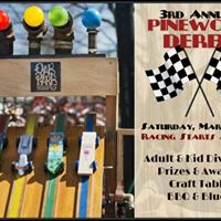 3rd Annual Pinewood Derby and BBQ BREWS and BLUES