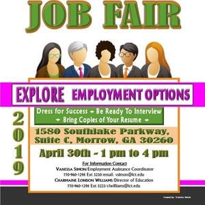 The Job Fair events in the City  Top Upcoming Events for The