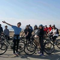 Sunset Cycling on Dead Sea with Sajyat Only 15 JDs