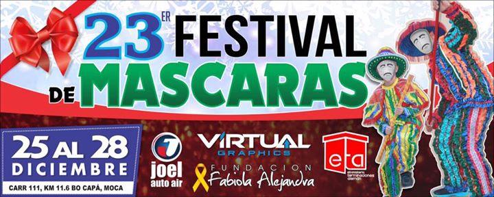 23 festival de mascaras at bo cap moca p r moca for Rio grande arts and crafts festival 2016