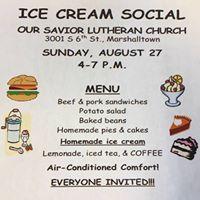 Our Savior Lutherans Ice Cream Social