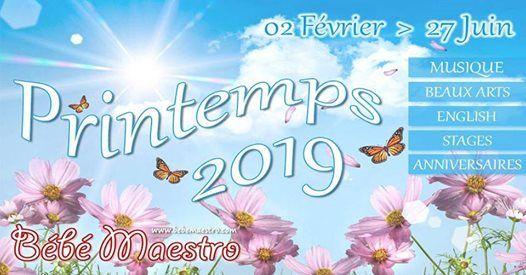 Printemps 2019 - Nouvelle saison  partir du 02 Fvrier