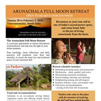 Arunachala Full Moon Retreat