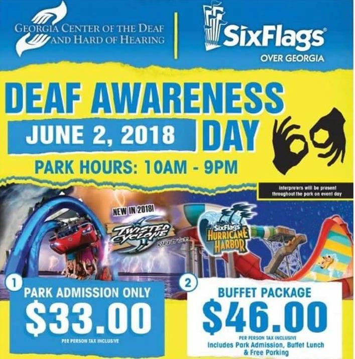 Deaf Day At 6 Flags In Atlanta Ga