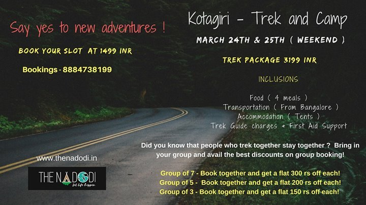 Kotagiri - Trek and Camp