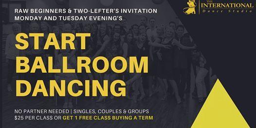 [JUNE] Tuesday Starter Ballroom Dance Class - 8 Week Term