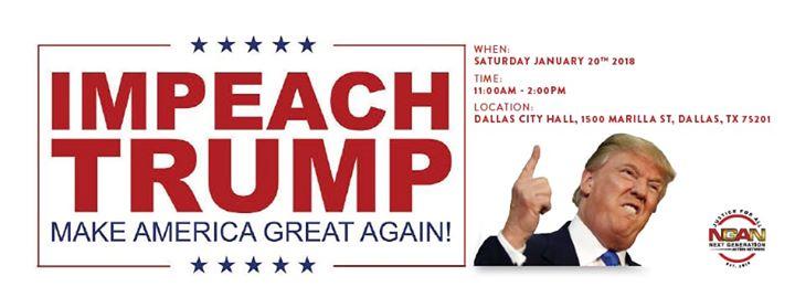Impeach Trump Solidarity March Dallas-Nationwide