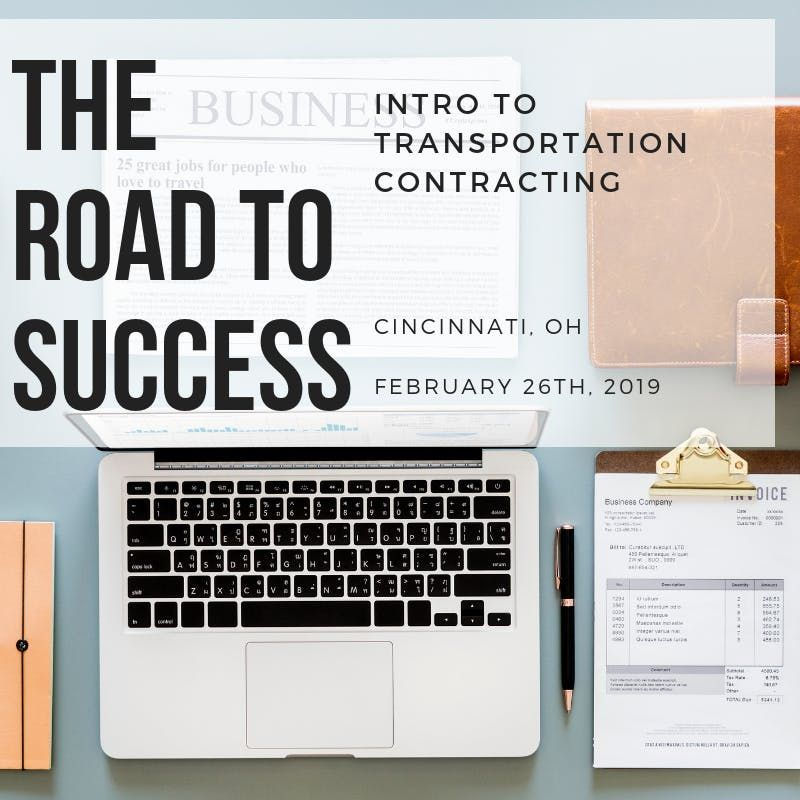 The Road to Success Intro to Transportation Contracting
