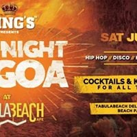 Kings Beer on the house One Night In Goa